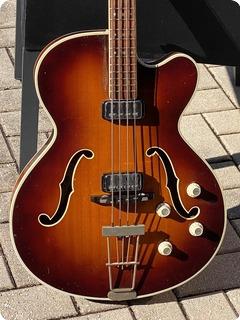 Hofner 5147 President Bass  1964 Sunburst Finish