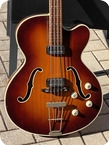 Hofner 5147 President Bass 1964 Sunburst Finish