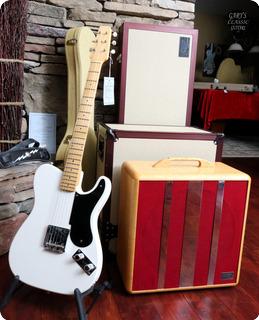 Fender 50'th Anniversary Guitar/amp Set 1996 White