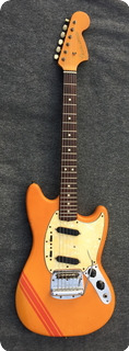 Fender Mustang 1969 Orange Yellow Competition