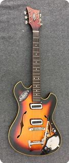 Meazzi Jupiter Acoustic 1965 Sunburst