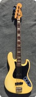Fender Jazz Bass 1976 Creme