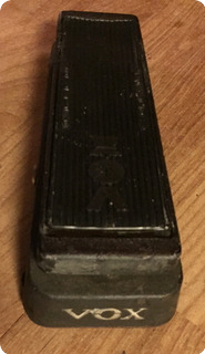 Vox Wha Wha V846 1970 Black