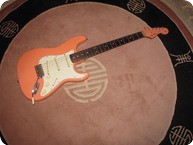 Fender Style Stratocaster Coral Caster 2016 Coral Matching Head