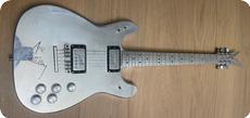 Veleno Aluminium Guitar Ex Ace Frehley KISS 1975 Silver