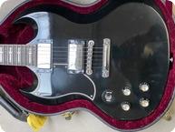 Gibson-Tony Iommi Custom Shop SG Left Handed BLACK SABBATH-2000-Ebony