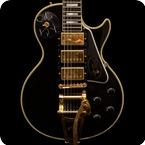 Gibson-Custom Shop Hand Aged & Signed Jimmy Page Les Paul Custom -2008-Ebony