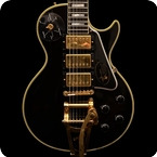 Gibson Custom Shop Hand Aged Signed Jimmy Page Les Paul Custom 2008 Ebony