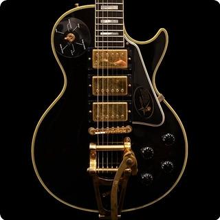 Gibson Custom Shop Hand Aged & Signed Jimmy Page Les Paul Custom  2008 Ebony