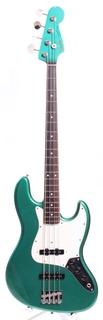 Fender Jazz Bass 66 Reissue Dots & Binding  1991 Sherwood Green Metallic