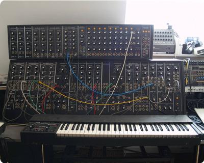 Wolfgang Palm Ppg Modular Synthesizer Super Rare 1975 Black