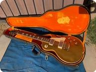 Gibson Les Paul Conversion 1 PC 1969 Gold Top 1 Pc