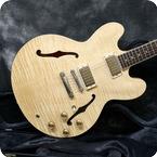 Gibson-ES-335 Dot-2012-Natural Flame Top