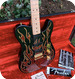 Fender -  James Burton Signatur Telecaster 1994 Black With Paisley Flames