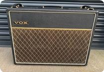 Vox AC30 TOP BOOST Edge Spec U2 1969 Black With Paisley Flames