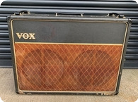 Vox-AC30 Brown Grill-1964-Black