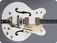 Gretsch-G6137 White Falcon - Mono!-1968-White