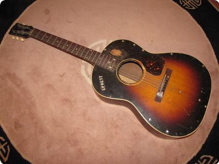 Gibson Lg 2 Banner 1943 Sunburst