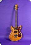 Mosrite Joe Maphis Model Bass 1965 Natural