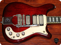 Epiphone Crestwood Deluxe 1964 Cherry Red
