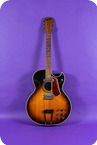 Coral Vincent Bell Combo Model 1968 Sunburst