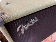 Fender Showman Speaker Cabinet Rare 1x15 Speaker 1962 White