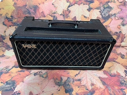 Vox Ac50 Head Ex Alan Rogan Collection 1967 Black