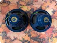 Vox Celestion Blue Bulldog Alnico Speakers 1960 Blue