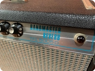 Fender-Bandmaster Reverb Head Ex Alan Rogan Collection Ex THE WHO-1970-Black