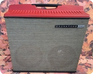 Magnatone 2x12 Extension Cabinet RARE Ex Alan Rogan Collection 1960 Black Sparkle