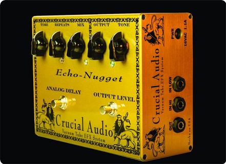 Crucial Audio Echo Nugget 2021 Yellow/gold