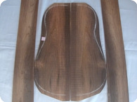 BRAZILIAN ROSEWOOD BACK SIDES SET 1970 EXOTIC DARK