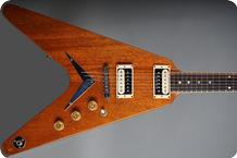 Dean USA Flying V 1982 Natural Mahogany