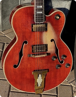 Gibson L 5ces Custom  1969 See Thru Cherry Red Finish