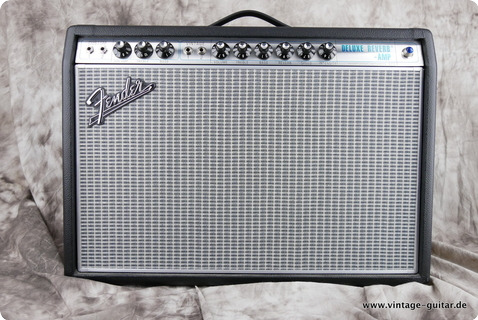 Fender 68 Custom Deluxe Reverb 2016 Black