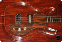 Ampeg Guitars Dan Armstrong 1970 See Through