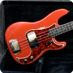Fender Precision 1961 Red Refinish