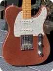 Fender American Classic Telecaster Custom Shop 1995 Pink Sparkle Finish