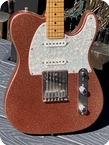 Fender-American Classic Telecaster Custom Shop-1995-Pink Sparkle Finish