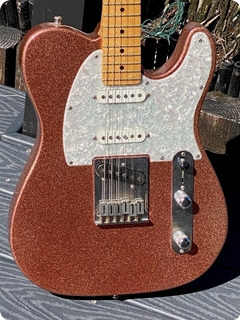 Fender American Classic Telecaster Custom Shop 1995 Pink Sparkle Finish