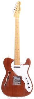 Fender Telecaster Thinline 70 Reissue Tn70 70  1993 Natural Mahogany
