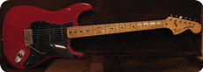 Fender Stratocaster 1979 Translucent Red