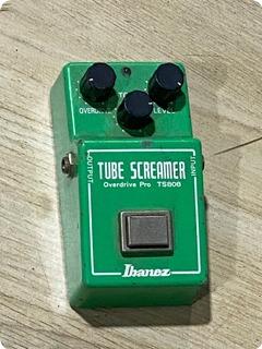 Ibanez Ts 808 Tube Screamer 1981 Green Finish
