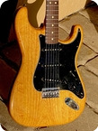Fender Stratocaster 1979 Natural Ash Finish