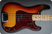 Fender Precision Bass 1972 3 tone Sunburst