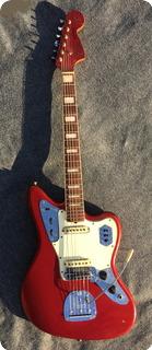 Fender Jaguar 1966 Candy Apple Red