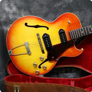Gibson Es 125 Tcd 1963 Cherry Sunburst