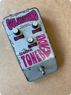 Colorsound Supa Tone Bender 1970 Silver