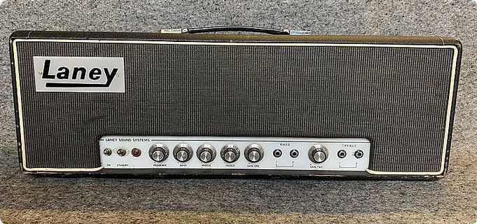 Laney Supergroup 100 Head, Tony Iommi, Black Sabbath 1969