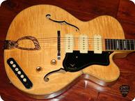 Guild Guitars Stratford X 375X 350B 1960 Blonde